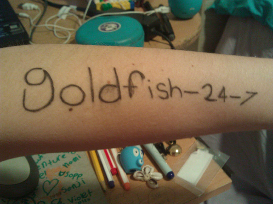 Cosplay...sorta....XD by Goldfish-24-7