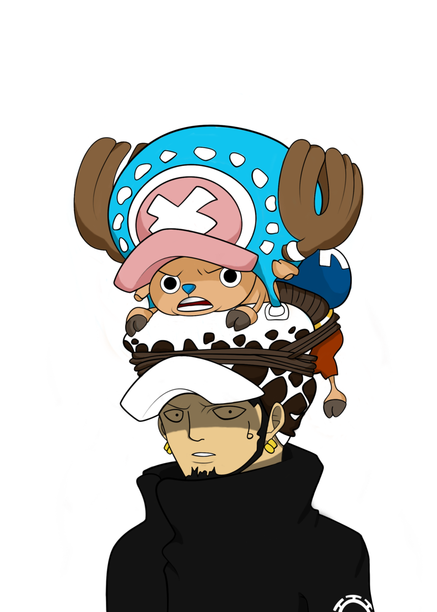 Law and Chopper by Goldfish-24-7