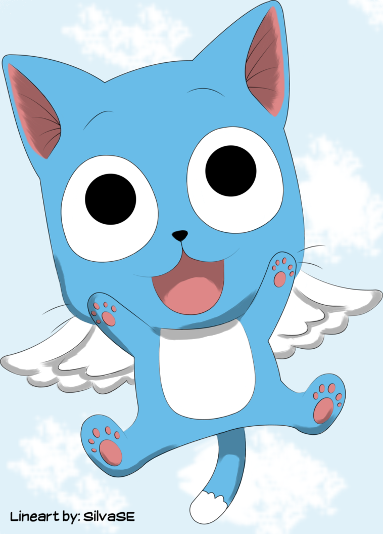 Happy from Fairy Tail by Goldfish-24-7 on DeviantArt Happy Fairy Tail Cute