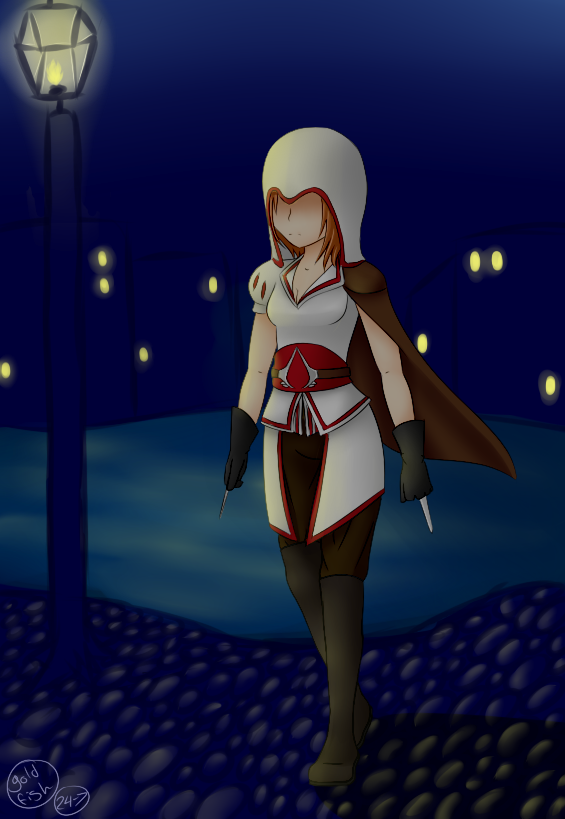 Assassin Creed Girl By Goldfish 24 7 On Deviantart