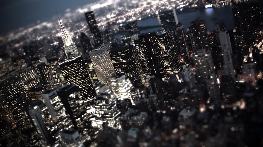 Tilt-Shift New-York by musback