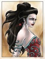 A dangerous woman by EmilieDionne