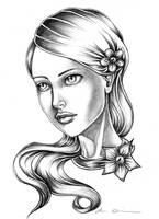 The Girl II by EmilieDionne