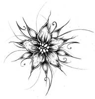 Flower Design I by EmilieDionne