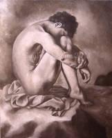 Nude Man Study by EmilieDionne
