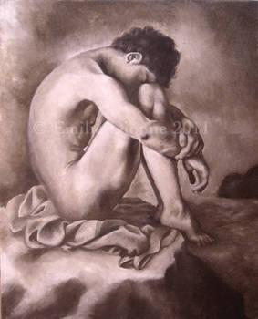 Nude Man Study