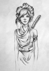 Warrior by EmilieDionne