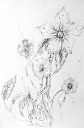 Esquisses florales by EmilieDionne
