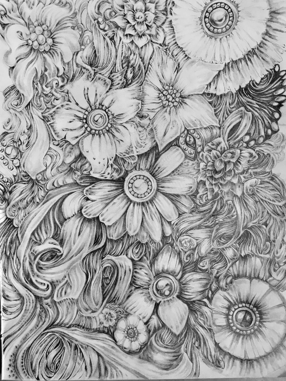 Flowers I by EmilieDionne