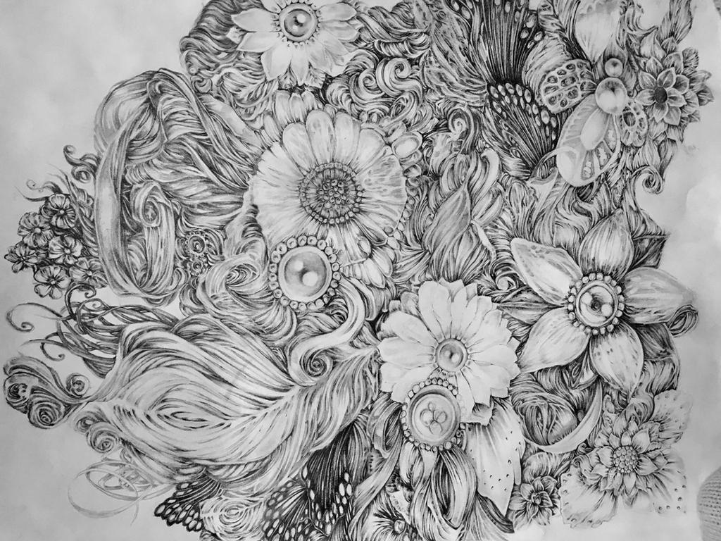 Flowers II by EmilieDionne
