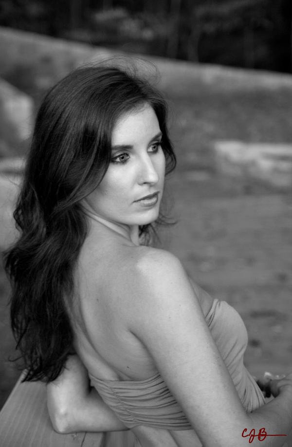 Brooke IV BW Take 2 by cjbroom