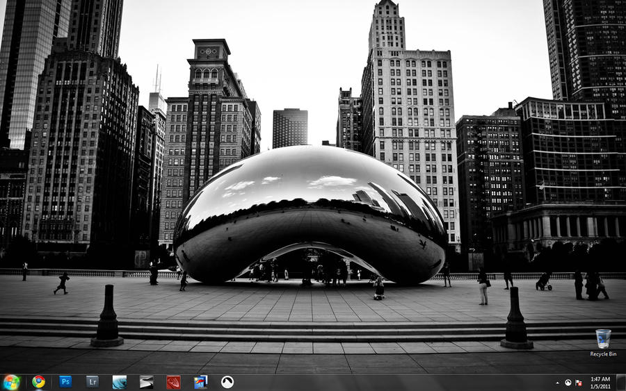 Desktop Snapshot 1-5-2011 by cjbroom