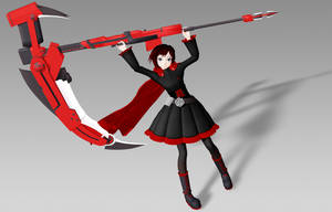 [MMD DL] Ruby Rose by Razz-Pixel