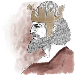 Sassanian Shah by Skamandros