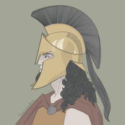 Hoplite by Skamandros