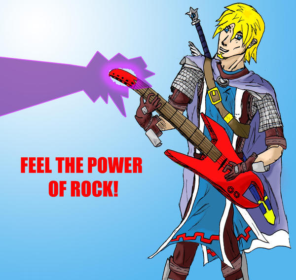 Rock paladin by Cubed1