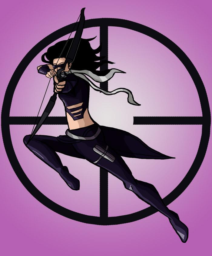 Hawkeye by Cubed1