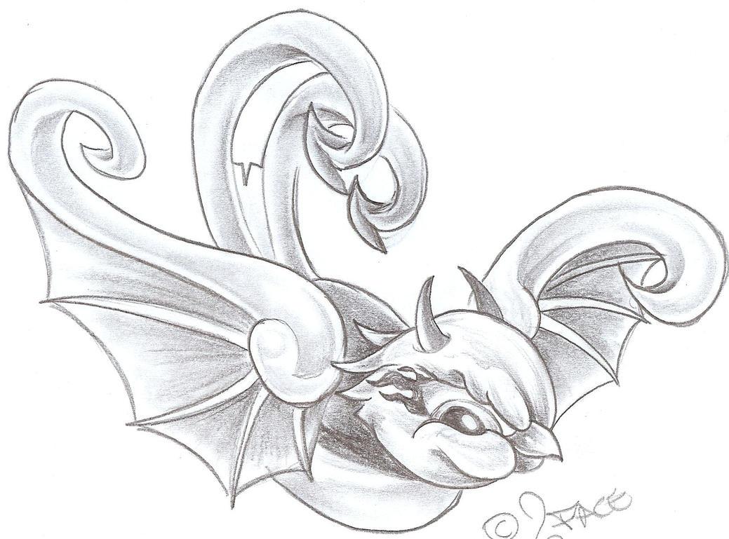 Drawing Evil Tattoo Designs