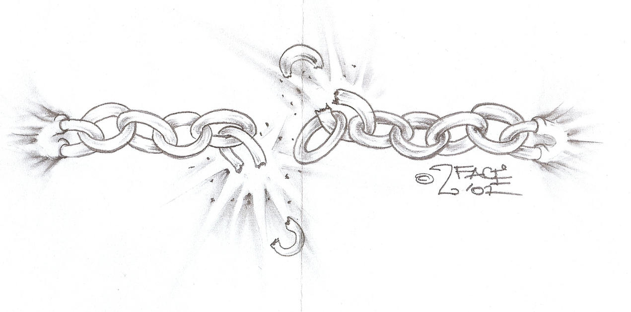 tattooflash break the chains by 2face tattoo on deviantart. Black Bedroom Furniture Sets. Home Design Ideas