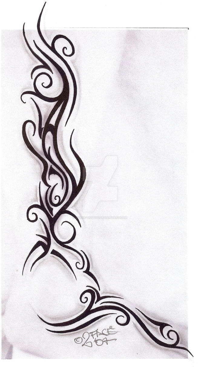 tattooflash tribal design nice by 2face tattoo on deviantart. Black Bedroom Furniture Sets. Home Design Ideas