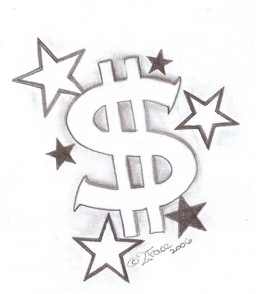 a tattoo of stars