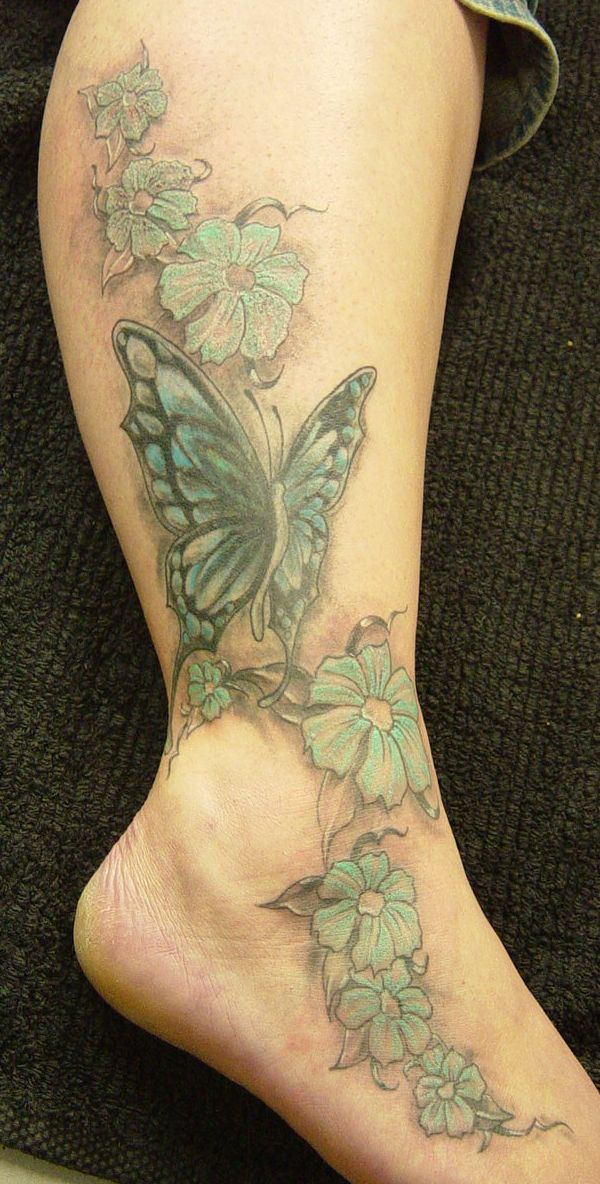 Butterfly Colour Tattoo