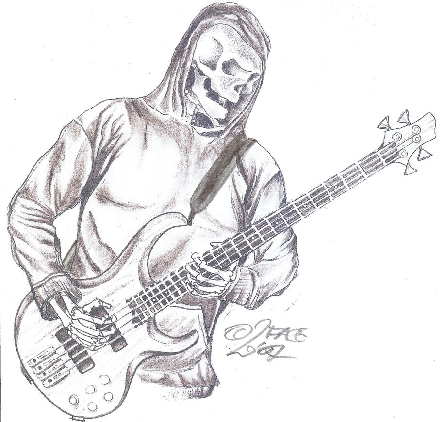 tattooflash reaper guitar by 2face tattoo on deviantart