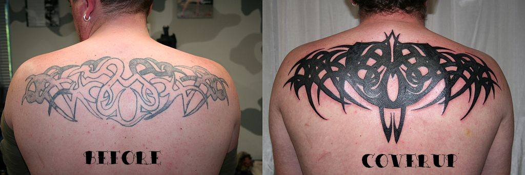 Big cover up tribal tattoo by 2face tattoo on deviantart for Big tattoo cover up
