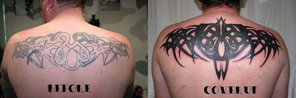 4390a1f71d18b Big Cover up Tribal Tattoo by 2Face-Tattoo on DeviantArt