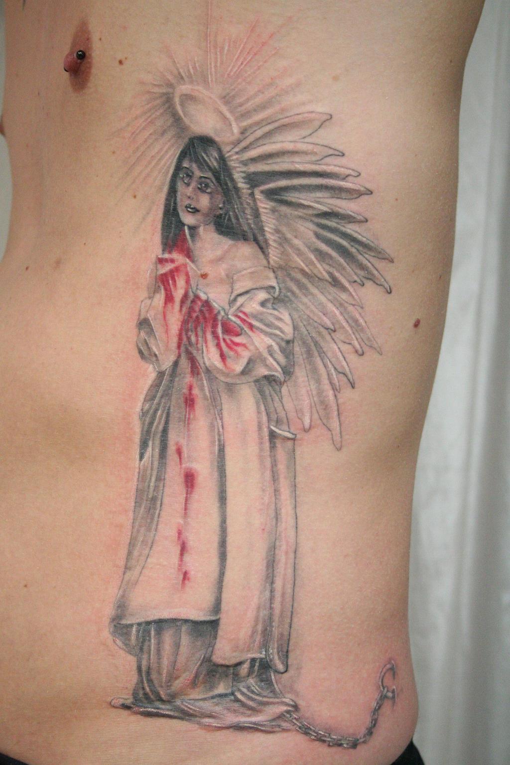 New big Angel Tattoo