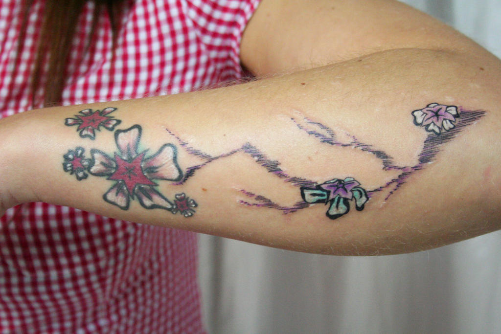 Other Nice Flower Tattoo - flower tattoo