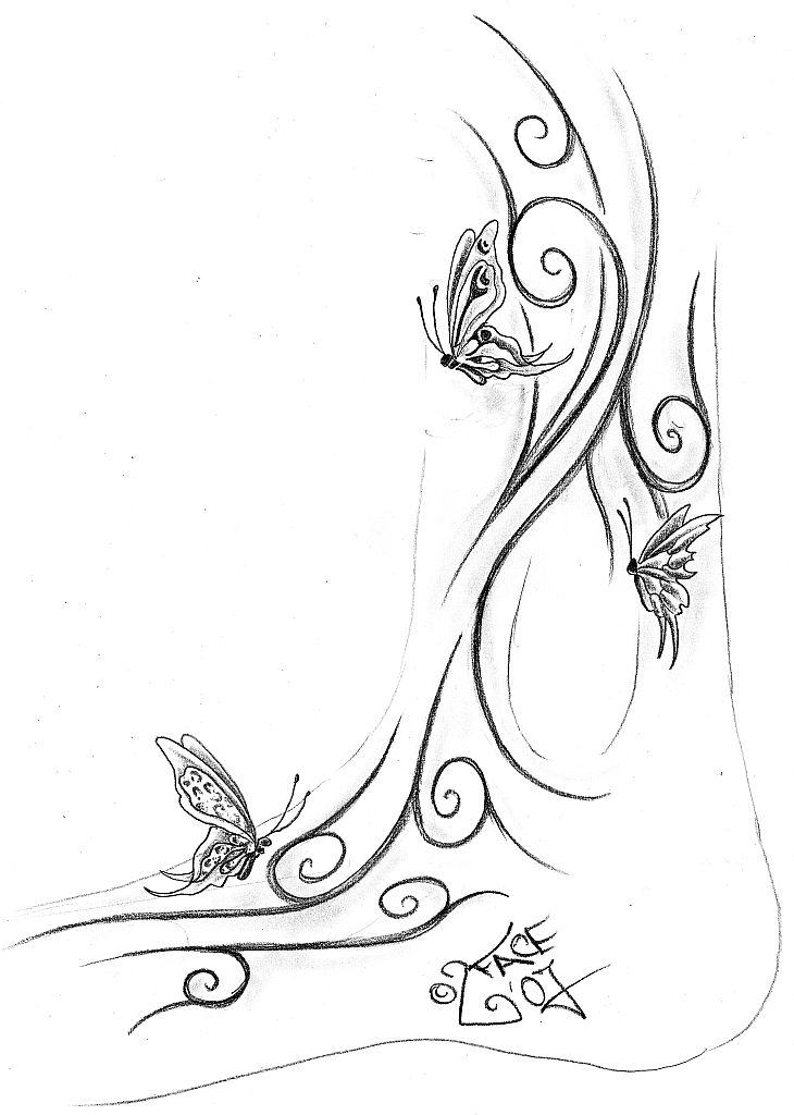 Butterflies Coloring Pages Pdf