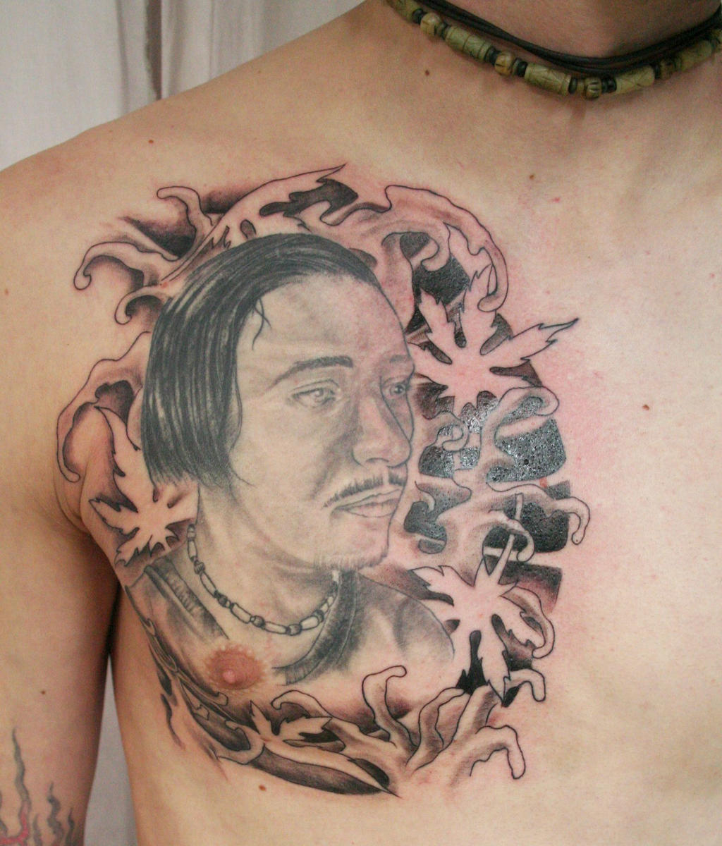 Portrait_2_Background_Tattoo_by_2Face_Tattoo. title=