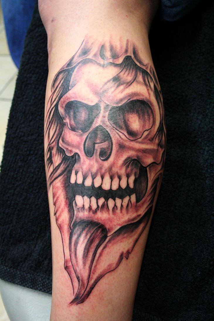 Skull Tattoo Skull by 2Face-Tattoo