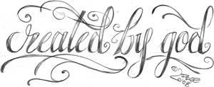 Letter New Sign Tattoo Design