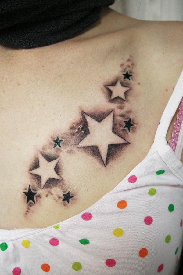 Little New Star Tattoo
