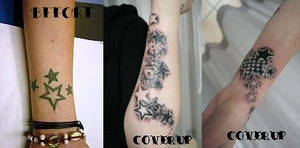 Cover up stars new Tattoo by 2Face-Tattoo