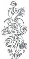 Flowers ornamentation Design