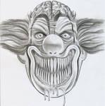 Ugly Clown Joker Design
