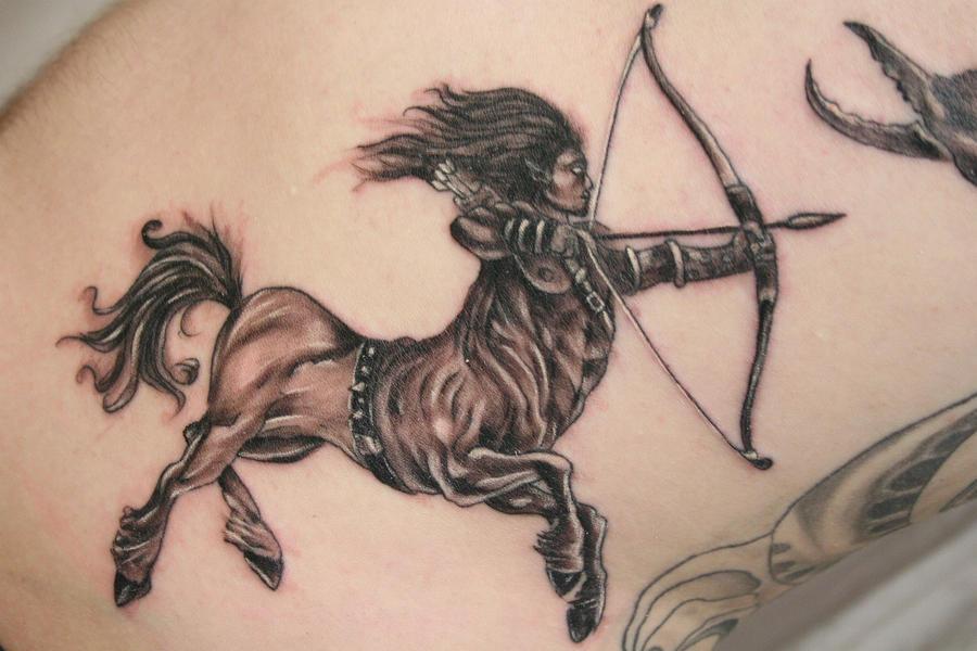 Sagitarius Zodiac Tattoo