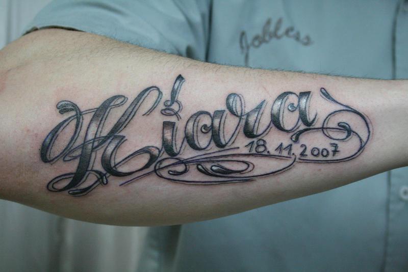 Tattoo chicano schrift Chicano Tattoo