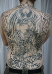 Backpiece Woman Celtic BG TaT