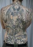 Backpiece Woman Celtic BG TaT by 2Face-Tattoo