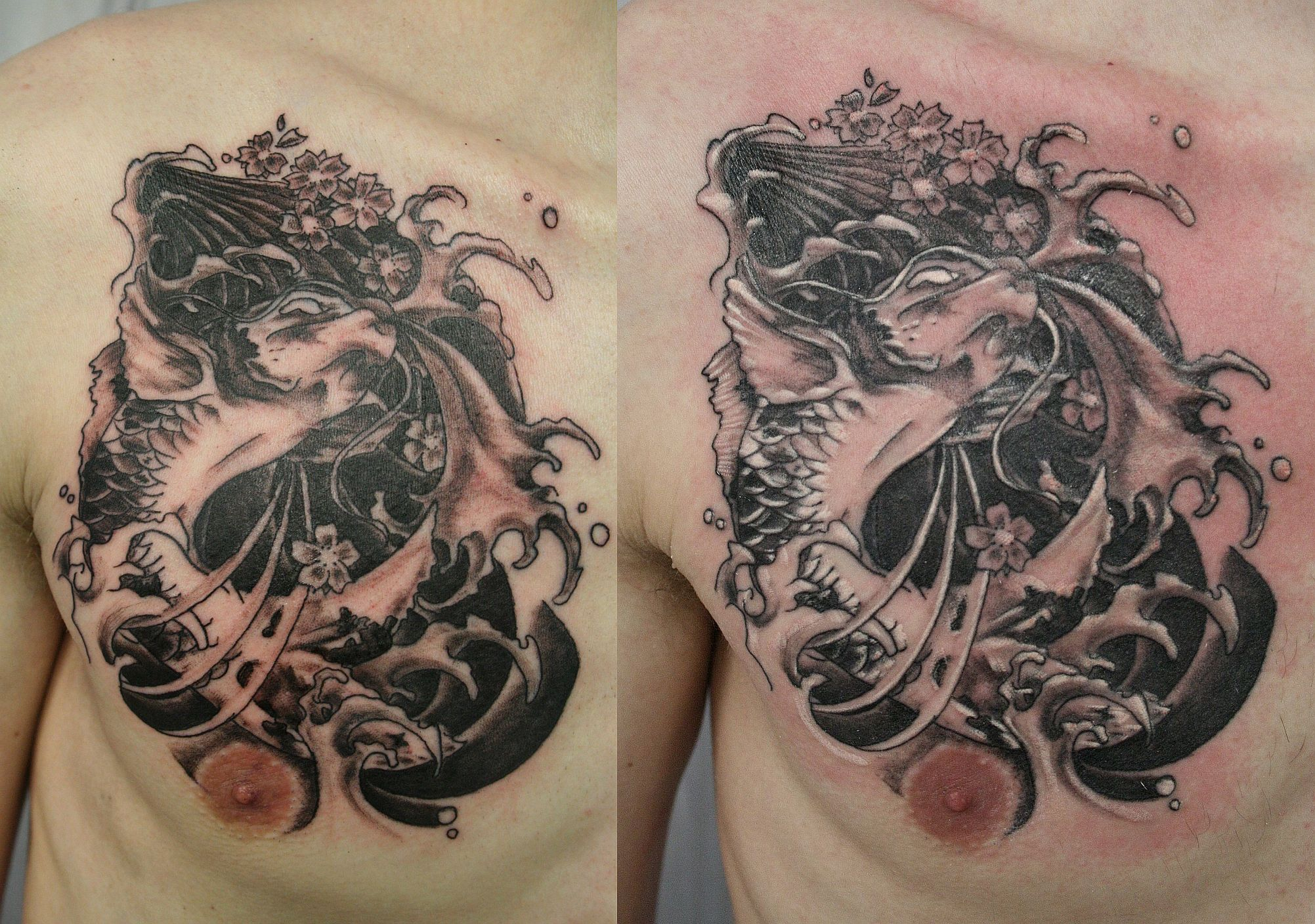 Amazing Japanese Tattoo Designs Especially Japanese Koi Fish Tattoo Picture 10