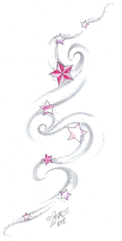 Star Tat Design shading