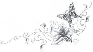 Flower Butterfly chicano Climb