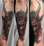 Bloody Baphomet Color TaT