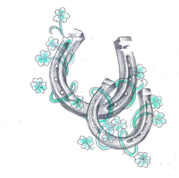 horseshoe drawing - photo #35