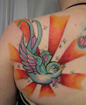 Session Angel Swallow by 2Face-Tattoo