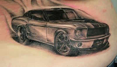 Car Tattoo Sleeve Designs